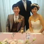帆足先生 ご結婚おめでとうございます ①