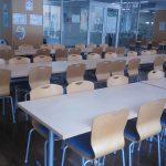 本校の食堂  ~ ! ~